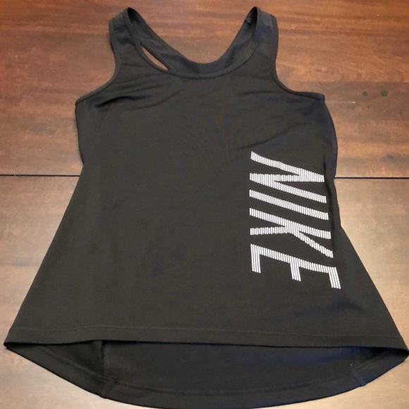 Nike Tops - Nike tank top.  Size s.  Black.